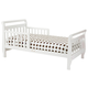 DaVinci Baby Sleigh Toddler Bed in White M2990W
