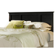 Carolina Furniture Carolina Midnight Full/Queen Panel Headboard in Black