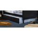 Carolina Furniture Carolina Midnight Trundle in Black 439100