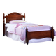 Carolina Furniture Classic Twin Panel Bed in Cherry