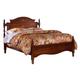 Carolina Furniture Classic Full Panel Bed in Cherry