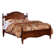 Carolina Furniture Classic Queen Panel Bed in Cherry