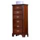 Carolina Furniture Classic 6 Drawer Lingerie Chest in Cherry 344600