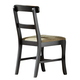 Carolina Furniture Platinum Chair in Black 500000