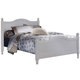 Carolina Furniture Cottage Full Panel Bed in White