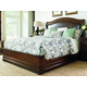 Lexington Coventry Hills Queen Chandler Mills Sleigh Bed in Autumn Brown 945-189C