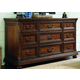 Lexington Coventry Hills Grayson Triple Dresser in Autumn Brown 945-234