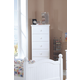 Carolina Furniture Cottage 6 Drawer Lingerie Chest in White 414600