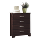 Carolina Furniture Carolina Signature Drawer Chest in Espresso 474400