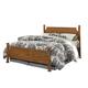 Carolina Furniture Creek Side Full Poster Bed in Autumn Oak