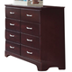 Carolina Furniture Carolina Signature Tall Dresser in Espresso 475800