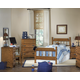 Carolina Furniture Creek Side 4 Piece Spindle Bedroom Set in Autumn Oak