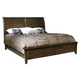 Hekman Harbor Springs California King Sleigh Bed in Rustic Hardwood 941519-520RH