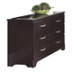 Carolina Furniture Carolina Signature Double Dresser in Espresso 475600