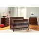 Da Vinci Baby Kalani 4 in 1 Convertible Crib Set in Espresso