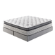 Mount Whitney Box Top Queen Mattress in White M89331