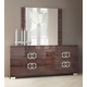 ESF Furniture Prestige Mirror in Cognac Birch