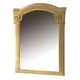 ESF Furniture Aida Mirror in Ivory w/ Gold