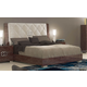 ESF Furniture Prestige Deluxe King Sleigh Bed in Cognac Birch