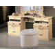 ESF Furniture Barocco Vanity Dresser in Ivory