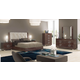 ESF Furniture Prestige Deluxe Sleigh Bedroom Set in Cognac Birch