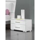 ESF Furniture Momo Nightstand in White