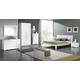 ESF Furniture Geko Bedroom Set in White