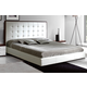 ESF Furniture Penelope & Luxury Queen Platform Bed in White