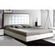 ESF Furniture Penelope & Luxury King Platform Bed in White