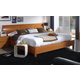 ESF Furniture 114 Queen Platform with Storage Bed in Cherry