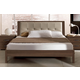 ESF Furniture Teseo Queen Bed in Warm Brown