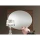 ESF Furniture Teseo Mirror in Warm Brown