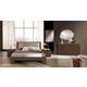 ESF Furniture Teseo Bedroom Set in Warm Brown
