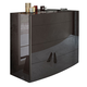 ESF Furniture Barcelona Dresser 120 in Dark Brown