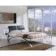 ESF Furniture 390 Nina Queen Platform Bed in Black