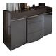 ESF Furniture Barcelona Dresser 150 in Dark Brown