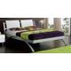 ESF Furniture 390 Nina King Platform Bed in White