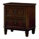 Standard Furniture Windsor Nightstand in Bourbon Brown 85607