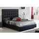 ESF Furniture 622 Penelope King Platform Bed in Black