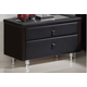 ESF Furniture Nightstand M73 in Black