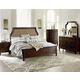 Standard Furniture Windsor Upholstered Panel Bedroom Set in in Bourbon Brown