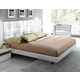 ESF Furniture Granada Queen Platform Bed in White