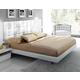 ESF Furniture Granada Queen Platform with Storage Bed in White