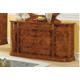 ESF Furniture Milady Double Dresser in Walnut