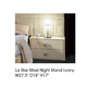 ESF Furniture La Star Maxi Nightstand in Ivory