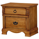 Standard Furniture Georgetown Nightstand in Golden Honey Pine 83007