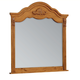 Standard Furniture Georgetown Mirror in Golden Honey Pine 83008