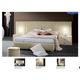 ESF Furniture Moon 3-Piece Platform Bedroom Set in Ivory