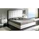 ESF Furniture 622 Penelope King Platform Bed in White