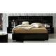 ESF Furniture Moon King Platform Bed in Black